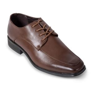 Brown Moc Toe Derby Shoe